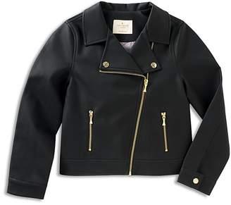 Kate Spade Girls' Faux-Leather Moto Jacket - Baby