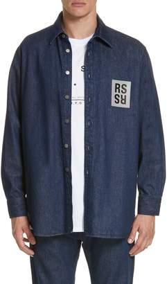 Raf Simons Carry Over Denim Shirt