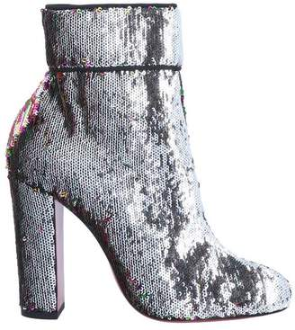 919deed72665 Christian Louboutin Silver Boots For Women - ShopStyle UK