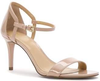 MICHAEL Michael Kors Womens Simone Mid Leather Open Toe
