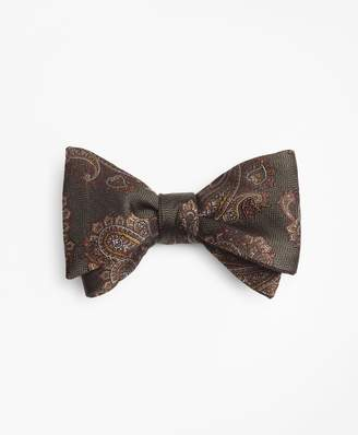 Brooks Brothers Large Paisley Bow Tie