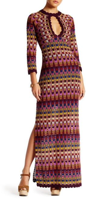 Free People Good Vibrations Sweater Maxi Dress
