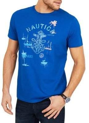 Nautica Anchor Graphic Cotton Tee