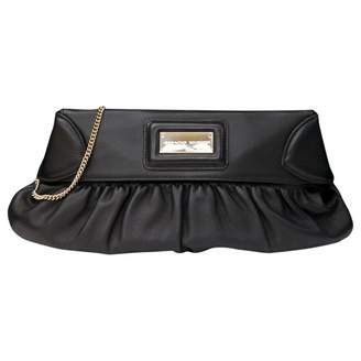 Jean Louis Scherrer Leather clutch bag