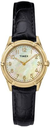 Timex Women's Main Street Easton Avenue Leather Watch - TW2P76200JT $59.99 thestylecure.com