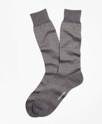 Brooks Brothers Diamond Crew Socks