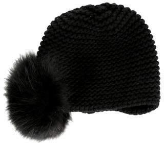 Inverni Fur-Trimmed Cashmere Beanie