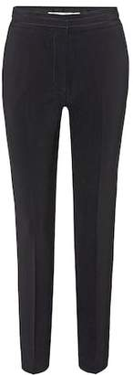 Victoria Beckham Victoria Wool-blend cropped trousers