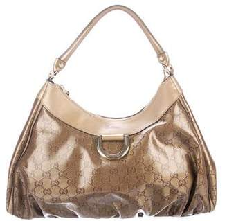 Gucci GG Crystal D-Ring Hobo