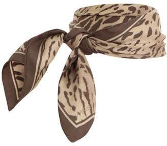 Zimmermann Small Square Printed Scarf