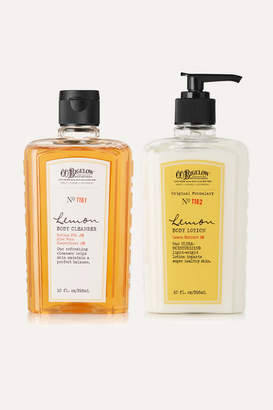 C.O. Bigelow Lemon Body Lotion And Cleanser Set - Colorless