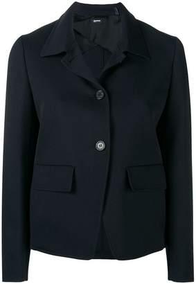 Jil Sander Navy cropped boxy jacket