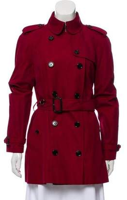 Burberry Trench Collared Coat