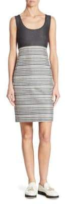 Akris Sleeveless Striped Dress