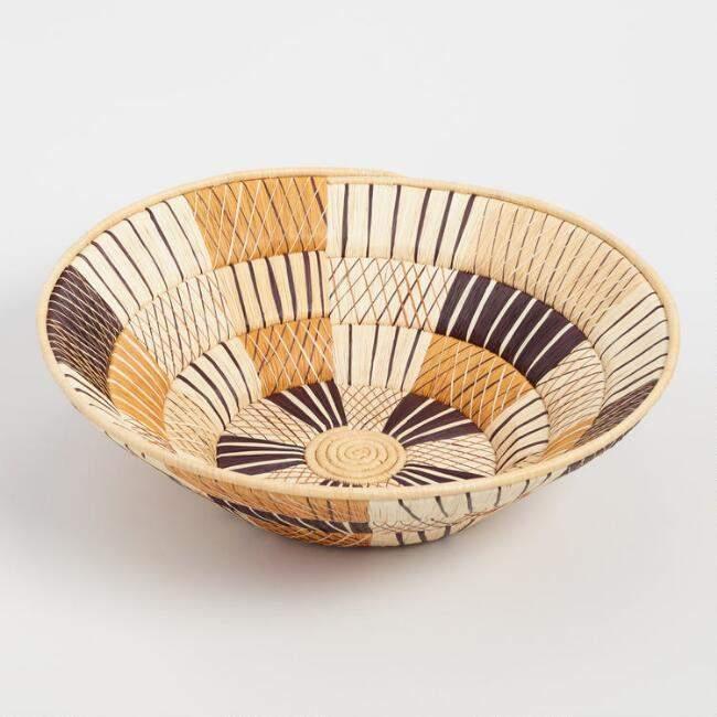 Natural Triple Weave Basket