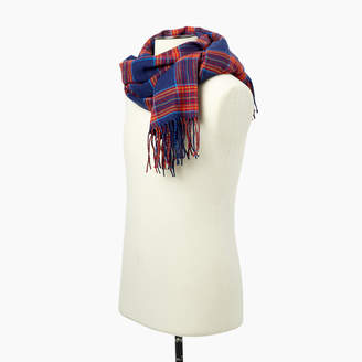 Roots Preppy Plaid Scarf
