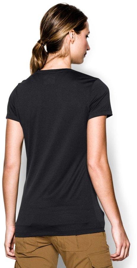Under Armour Women's Tech; Tactical T-Shirt