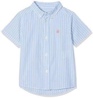 Benetton Boy's Shirt Blouse,(Manufacturer Size: EL)