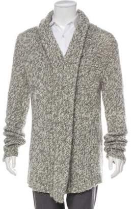 Ann Demeulemeester Wool & Alpaca Cardigan white Wool & Alpaca Cardigan