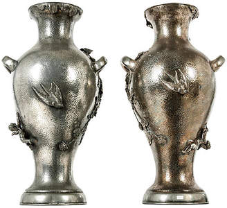One Kings Lane Vintage 19th-C. Decorative Vases - Set of 2