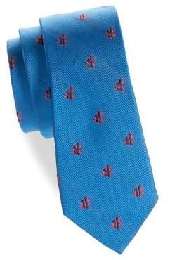 Lauren Ralph Lauren Boy's Fish Silk Tie