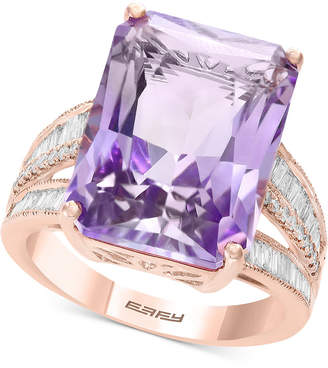 e81c56c6b Effy Pink Amethyst (15-1/2 ct. t.w.) & Diamond (