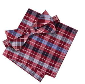 Lord & Taylor Boy's Double Plaid Bow Tie