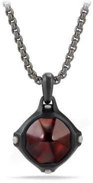 David Yurman Davidyurman Anvil Amulet With Hessonite Garnet