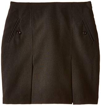 Trutex Girl's Senior Twin Kick Pleated Skirt,(Manufacturer Size: /L20)