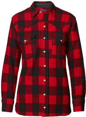 Ralph Lauren Buffalo Plaid Western Shirt $1,190 thestylecure.com