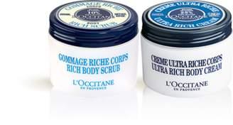 L'Occitane Shea Butter Cream & Scrub Duo