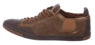 Louis Vuitton Suede Low-Top Sneakers