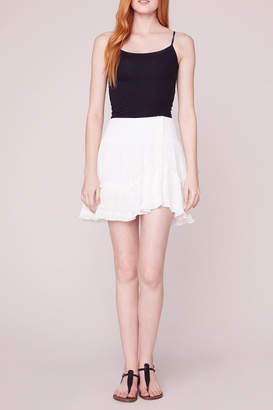 BB Dakota Crinkle Flounce Skirt