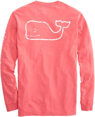 Vineyard Vines Long-Sleeve Vintage Whale Graphic Pocket T-Shirt