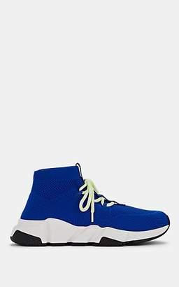 Balenciaga Women's Speed Knit Sneakers - Royal Blue
