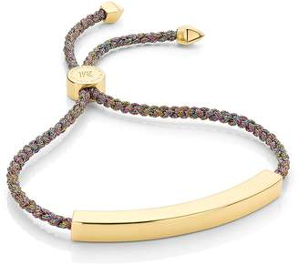 Monica Vinader Rainbow Metallica Linear Large Friendship Bracelet