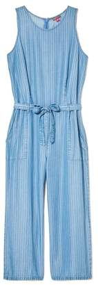 Vince Camuto Striped Culotte Jumpsuit