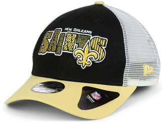 New Era Boys' New Orleans Saints Trucker Joy 9FORTY Cap
