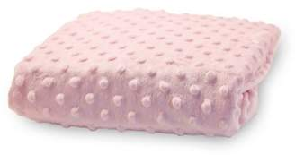 Rumble Tuff Minky Dot Changing Pad Cover, Pink,Compact by