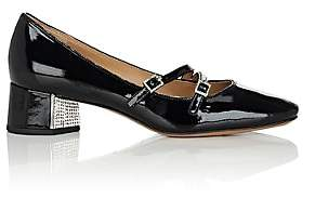 Marc Jacobs Women's Bella Patent Leather Mary Jane Pumps - Black
