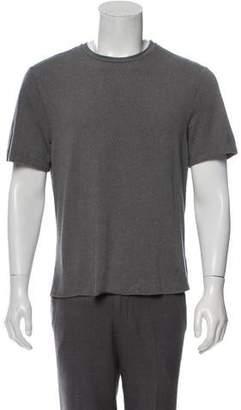 Emporio Armani Textured Crew Neck T-Shirt