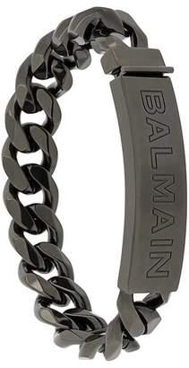 Balmain logo chain bracelet