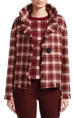 Akris Punto Boxy Tweed Jacket