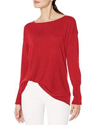 NYDJ Women's Button Back Boat Neck Sweater