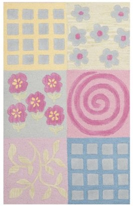 Safavieh Kids Tiana Hand-Tufted Area Rug or Runner, Pink/Multi