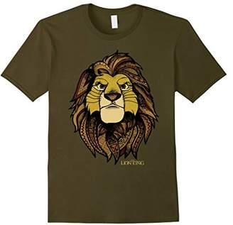 Disney Lion King Noble Simba Graphic T-Shirt