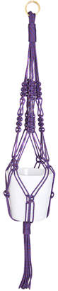 The Knot House Large Climbing Rope Hanging Planter