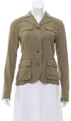 Theory Linen-Blend Lightweight Jacket