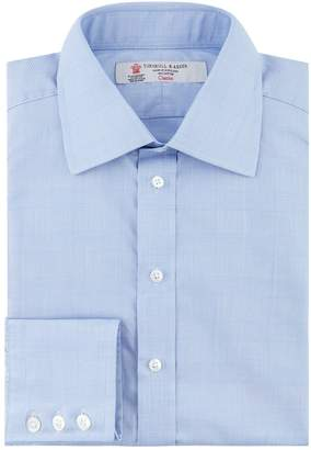 Turnbull & Asser Prince Of Wales Check Formal Shirt