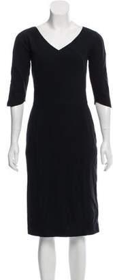 Narciso Rodriguez Wool Blend Dress